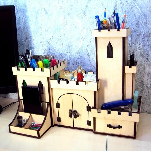органайзер замок в подарок для друзей, коллег, детей