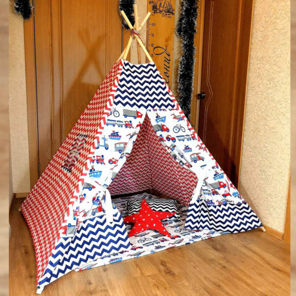 Домик для мальчиков (типи, вигвам) - подарок для мальчиков