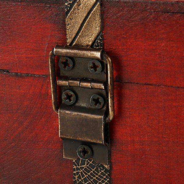 Подарочная Винтажная шкатулка из дерева (23 х 16 х 7,5 см)