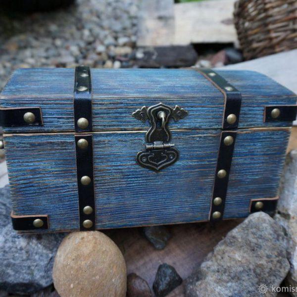 "Шкатулка ""Сундук пирата"" - отличный подарок для женщин, мужчин, коллег."