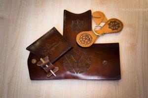 подарочный кошелек из кожи своими руками