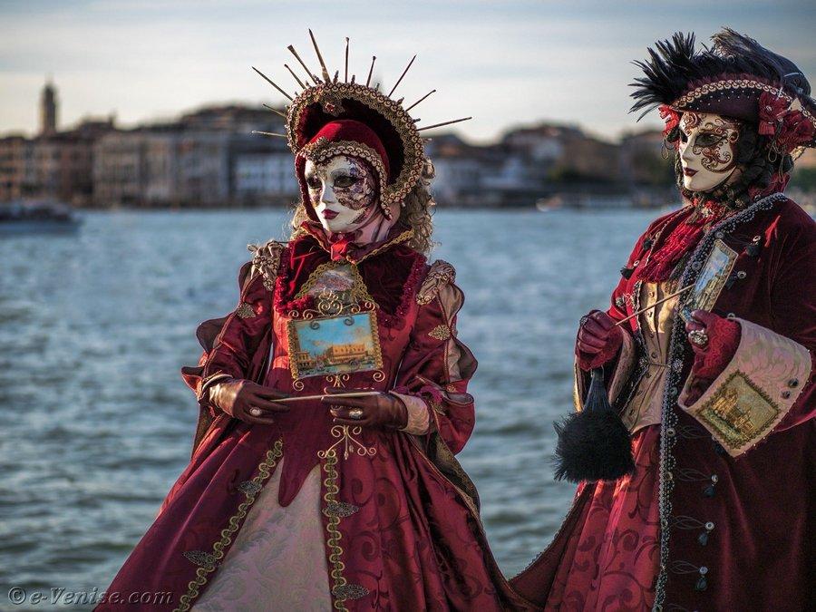 Создание венецианских масок