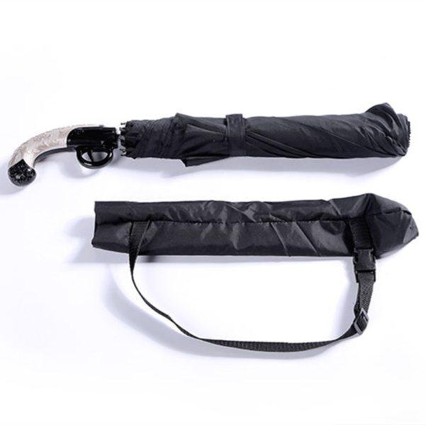 Зонт - пистолет автоматический. Идеальный подарок для мужчины. Купить мужской зонт