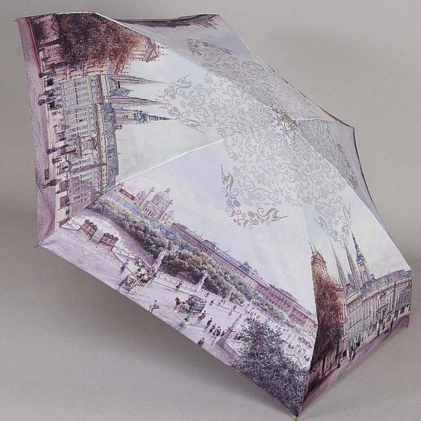 Компактный стильный женский зонт LAMBERTI купить цена