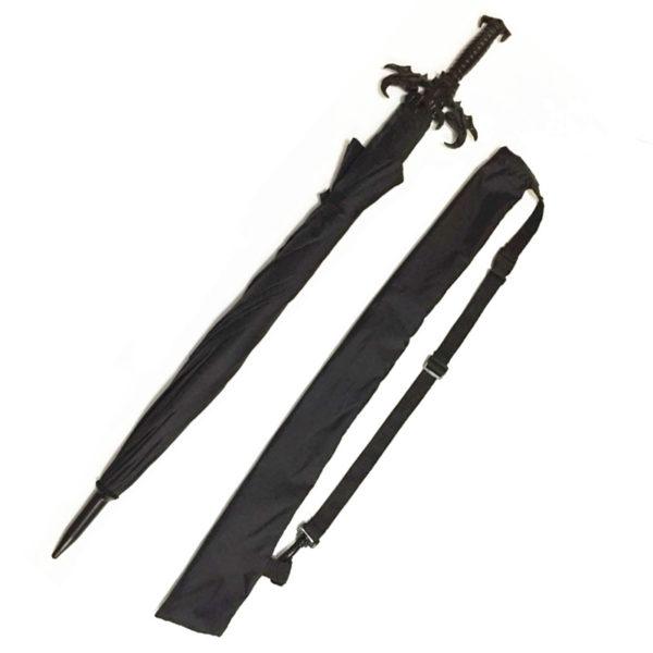 Зонт готический меч - это отличный подарок для поклонников жанра фентези и аниме. Купить онлайн