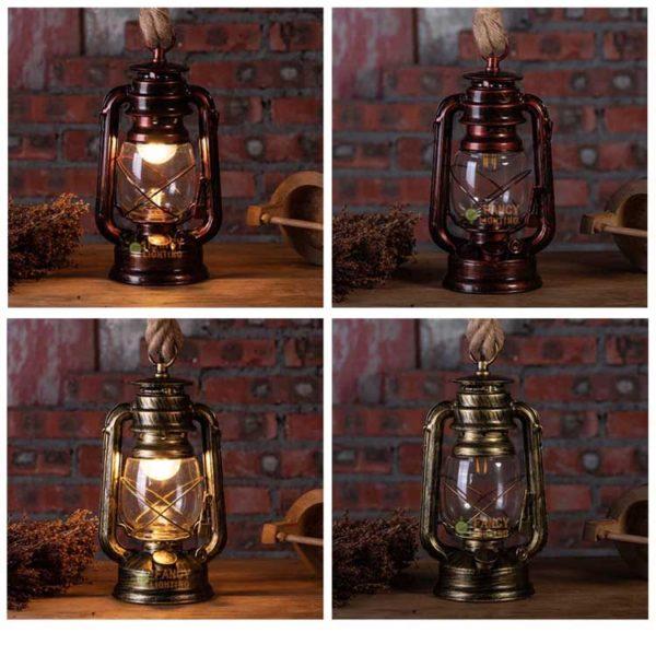 Декоративный винтажный светильник лампа. Купить интерьерный подарок
